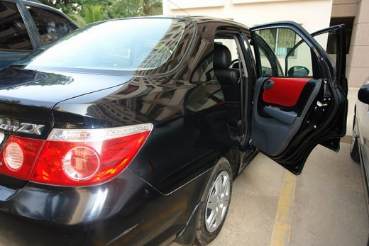Honda City ZX 2007 Black - still shining like a brand new one