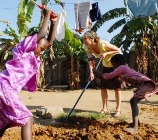 Africa volunteering