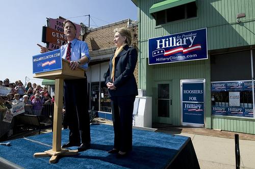 Sen. Hillary Clinton, D-NY Photo Source hillaryclinton.com