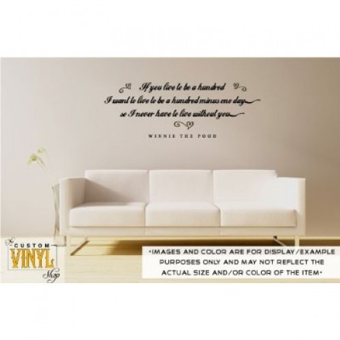 Winnie the Pooh Quotes Wall Art