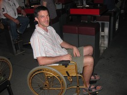 Aides can take care of patients in wheelchairs.