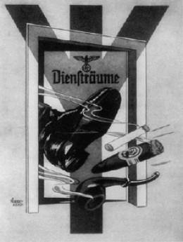 One of the Nazis' most widely distributed anti-smoking propaganda posters