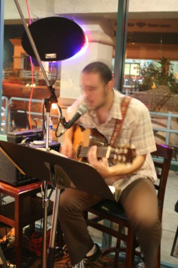 Patrick McKeone playing at Vino Veritas