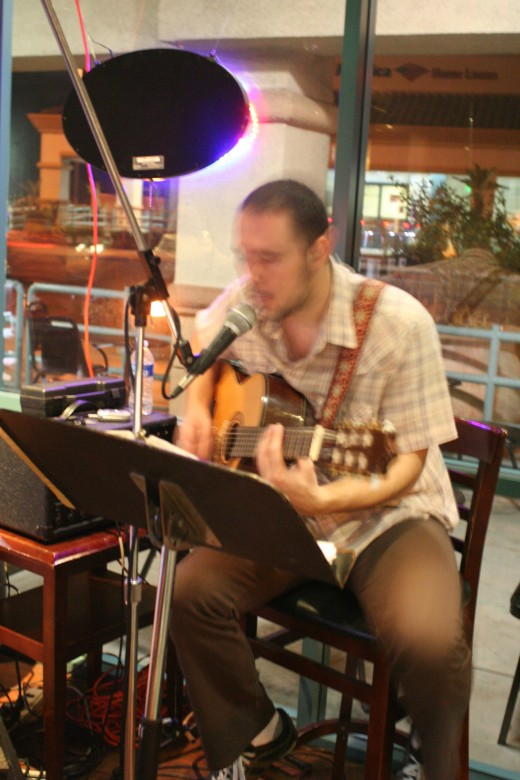 Patrick McKeone playing at Vino Veritas