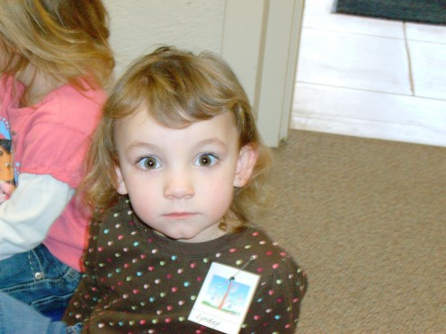 The first day of preschool can be scary for a preschooler!
