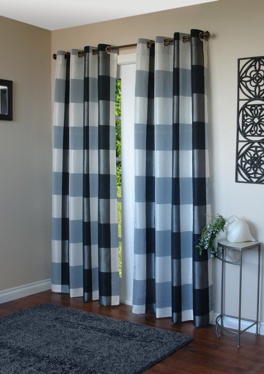 Curtains Ideas common curtain sizes : Why Floor Length Curtain Panels are the Way to Go | hubpages