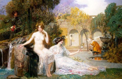 """Fountain of Youth,"" Eduard Veith"