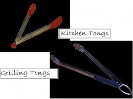 Kitchen and Grilling Tongs