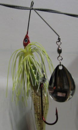 Spinnerbait Trailer and Stinger