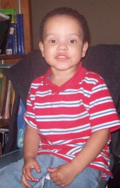 My son, Ayden, when he was 3 years old.