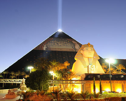 Luxor Hotel and Casino 3900 Las Vegas Boulevard South, Las Vegas, NV 89119 (702) 262-4444