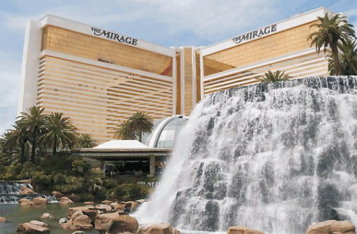 The Mirage Hotel and Casino 3400 Las Vegas Boulevard South, Las Vegas, NV 89109 (702) 791-7111