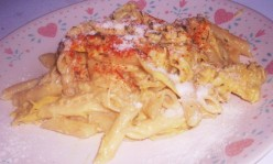 Penne Pasta - How to Make a Creamy Garlic Chicken with Artichoke Recipe