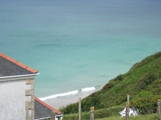 Beautiful turquoise ocean views