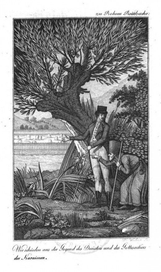 Karaite Hacham Shalom Chelitzi with Rohrer 1804