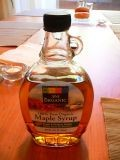 Maple syrup.        http://www.flickr.com/photos/brettlider/65360840/
