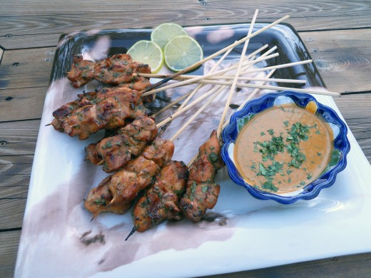 Easy Recipe for Chicken Satay