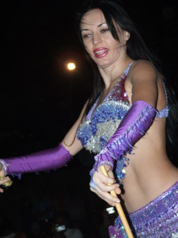 """Beaded Belly Dance Bra with a """"fringe"""" on the top!"""
