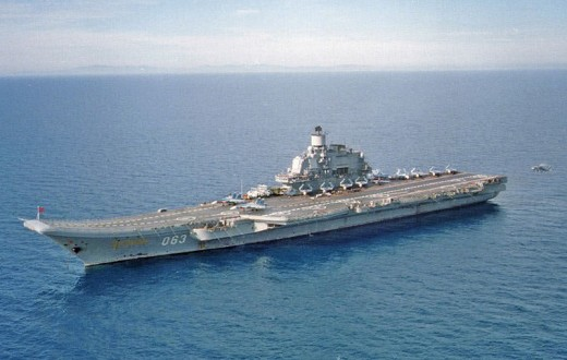 Russian aircraft carrier Kuznetsov. Definitely do not purchase any vehicles online. Especially military surplus. (Carrier pictured is not believed to be for sale, used only as an example.)