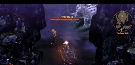Dungeon Siege 3 How to Beat the Warbeast - a Little Alcove in the Arena