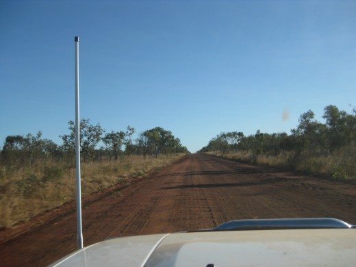 Driving on Gibb River Road !