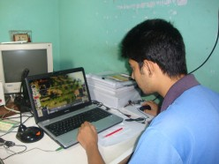 Working With A Computer