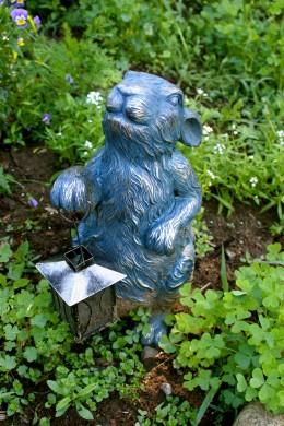 William, the garden bunny.