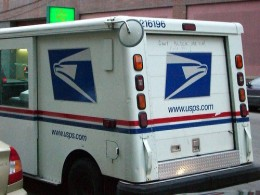 Those driving Postal Service vehicles require safe driving records.