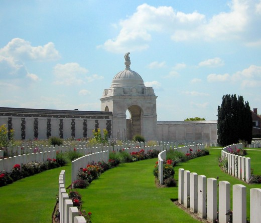 Tyne Cot Commonwealth War Graves Cemetery and Memorial to the Missing