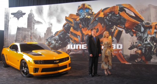 """Bumblebee"" the car from the movie, ""Transformers"""