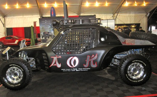 2009 Baja 1000 Class Champion Car at the Barrett-Jackson Auto Auction in Orange County, CA.