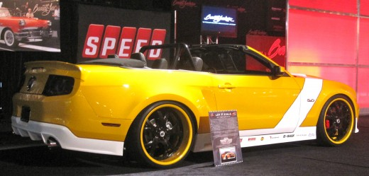 One of the cars up for auction at the Barrett-Jackson Auto Auction in Orange County, CA.