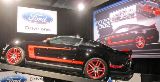 "The""Boss"" car at the Barrett-Jackson Auto Auction in Orange County, CA."