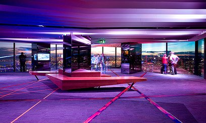The Observation Deck at Eureka Skydeck, Melbourne