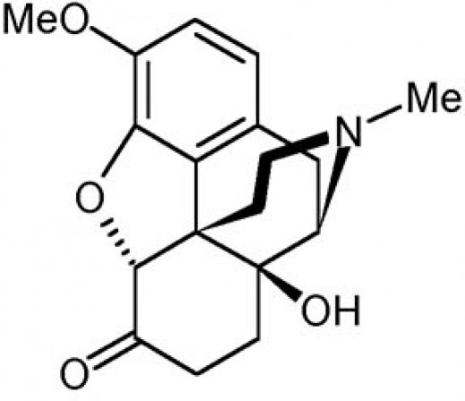 Molecular structure of Oxycontin