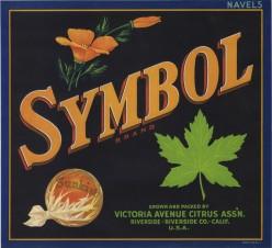 free cross stitch pattern Symbol fruit crate label