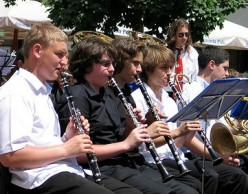 It is a great fun to play in groups of clarinettists.  You can do it by joining a school orchestra or a marching band.  It takes a lot of practice and time to improve on playing the clarinet.