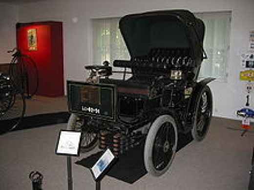 The Peugeot type 19 1899