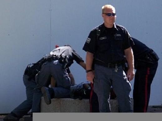 Police Takedown