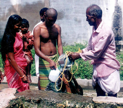 water cleansing ritual is one of the most known in the world and everyday life
