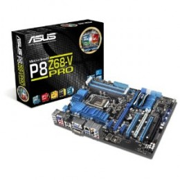 The P8Z68 Pro was one of the most popular motherboards of 2011 because it featured strong overclocking performance along with Intel's Z68 chipset.