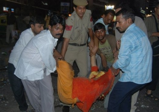 New Delhi bomb blast