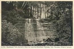 Vintage Postcard of Washboard Falls.