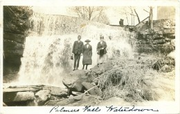 1929 Postcard calls this Palmers Falls. Now it is called Great Falls or Grindstone Falls