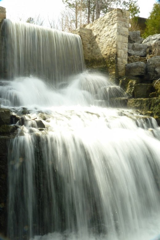 Upper Mill Falls as it looks today.