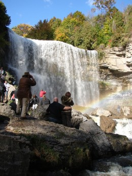 Webster's Falls as it looks today.