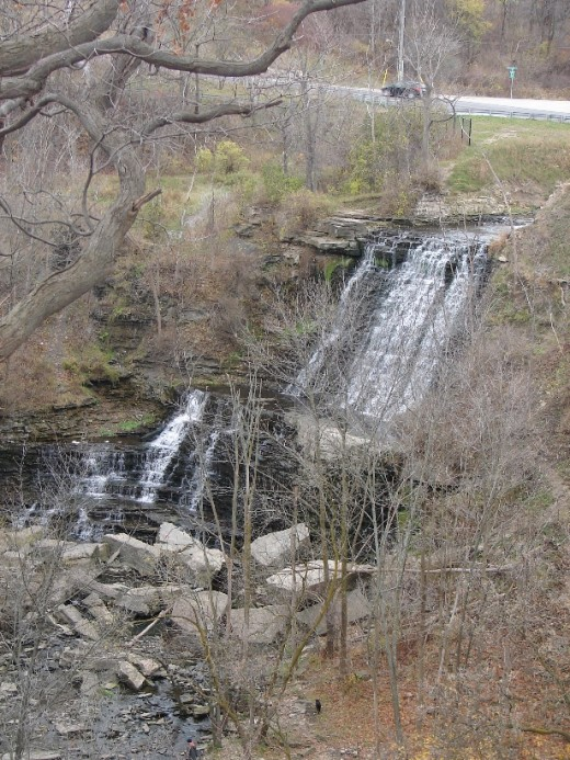 Albion Falls as it looks today.