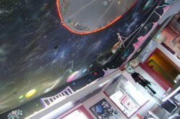 Roof of the Red planet diner