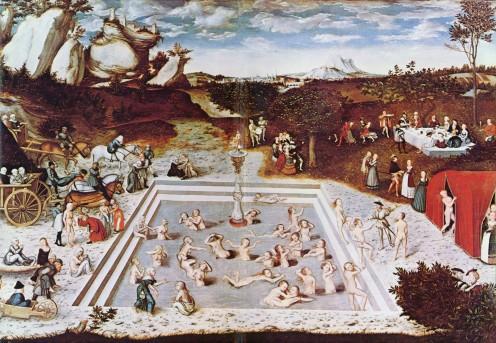 Lucas Cranach the Elder, Der Jungbrunnen, 1546.