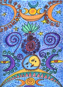 In astrology, harmony and symmetry are very important